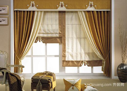 窗帘滑道效果图