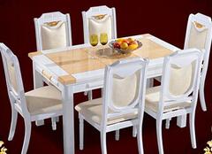大理石餐桌价格各有千秋 关键在于如何选择