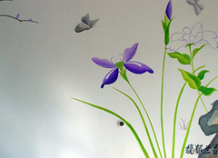 手绘墙画:亲手为自己的家居添一抹亮色