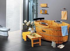 香柏木浴桶:防水防腐又耐用