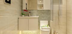 卫浴装修有技巧 瓷砖身影少不了