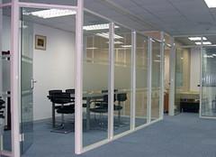 想了解办公室玻璃隔断墙 看这一篇就够了