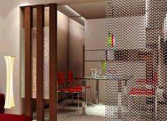 客厅餐厅隔断 空间感十足