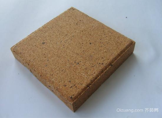 透水砖效果图-透水砖如何选 厚度尺寸要了解