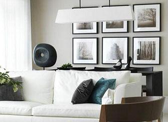 客厅装修质感糙 装饰画带你高逼格