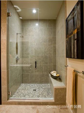美式浴室效果图