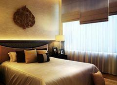 窗帘装扮卧室 家居温和舒适