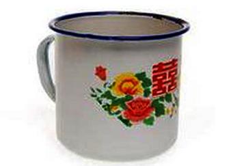 """搪瓷杯""""老物件""""悄然走进收藏市场"""