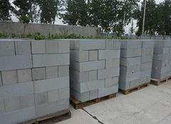 选择合适尺寸砌块砖 建筑施工水到渠成