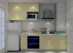 一字型橱柜:厨房装修的最佳搭配