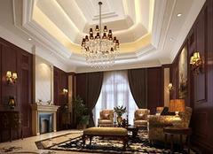 选购水晶吊灯 让客厅绽放光彩