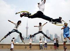 使用弹跳器 健身与安全需兼顾