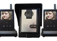 安装可视对讲门铃 家居安全有保障