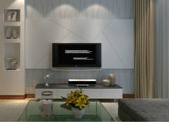 客厅电视墙怎么做?隔断设计是关键