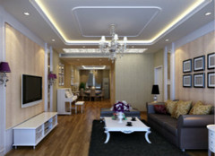 水晶灯:提高客厅风水的关键