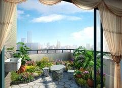 颜值和功能兼备的阳台花园装修案例