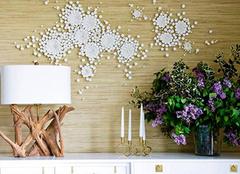 墙面装饰的新秀——草编壁纸