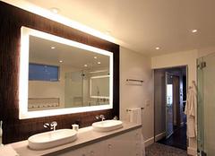 浴室镜前灯安装高度一招轻松帮您解决
