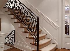 铁艺楼梯扶手装饰家居 保养技巧你知道多少?
