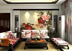 悬挂金箔画 让家居格调更上一层楼