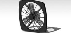 家用排气扇尺寸如何选?种类空间为依据
