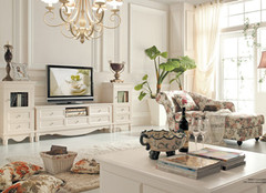 最佳电视柜高度 不同风格各不同