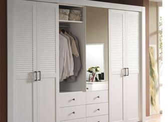 衣柜穿衣镜尺寸这样确定 照出美美的你
