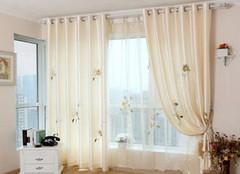 窗帘滑道选购及安装注意事项