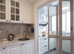 厨房客厅的最好隔断之法莫过于厨房折叠门