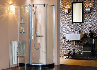 巴斯曼淋浴房时尚外观 打造高端淋浴房品牌