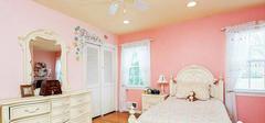 设计粉红卧室 为孩子打造梦幻天堂