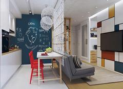 60平米的小居室 高逼格情调都有了!
