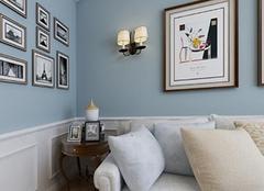 壁灯安装高度因空间不同而变化