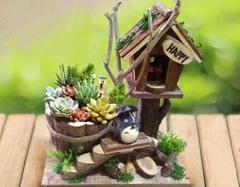 6款创意十足的多肉植物花盆 让你的生活美起来