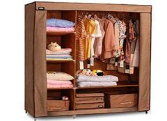 布衣柜选购技巧和优点分析