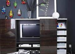 电视背景墙设计9步走 客厅收纳巧解决