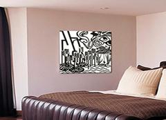 室内装饰画挂法有窍门,您家室内装饰画挂对了吗