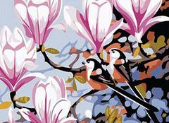 手绘装饰画工作室流露出的植物手绘画精彩案例