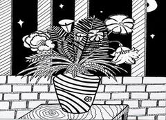 家居装饰黑白装饰画的艺术特色及其选购小技巧