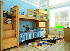 儿童实木子母床选购技巧大全 儿童实木床如何挑选
