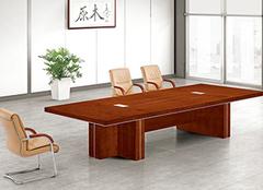 实木会议桌有哪些分类?实木会议桌的尺寸