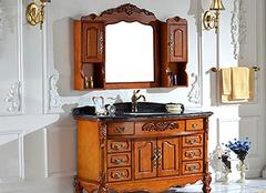 实木浴柜防潮性怎么样 实木浴室柜挑选要点