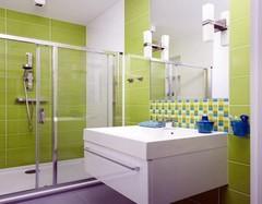 2016国内各式流行风格浴室推拉门装修效果图欣赏