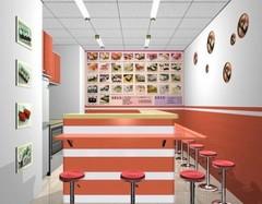 2016小吃店装修风格效果图赏析