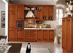 实木整体橱柜的优缺点及保养方法