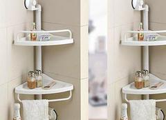 卫生间储物架材质哪种好?三款卫生间储物架