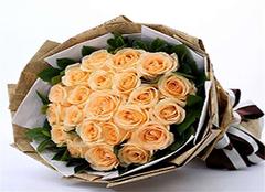 香槟色玫瑰的花语 香槟玫瑰寓意揭秘