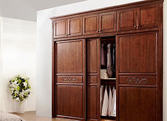 实木定制衣柜的优点 实木定制衣柜图片