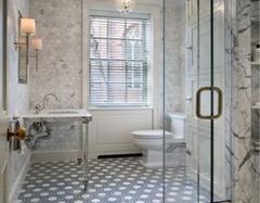 2016国内浴室玻璃隔断效果图欣赏