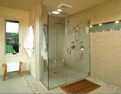 浴室玻璃隔断安装方法 浴室玻璃隔断安装注意事项